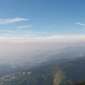 Cerna Hora - Paragliding Fly, inwersja niestety nisko