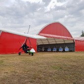 Piknik Lotniczy - motolotnia 2 osobowa.