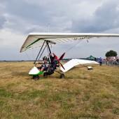 Gminny Piknik Lotniczy - motolotnia 2 osobowa.