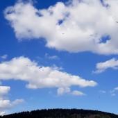 Mieroszów Paragliding Fly, Ostatnia przelotowa chmura, którą tracę z zasięgu.