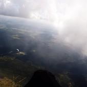 Cerna Hora Paragliding Fly, Magia Chmur