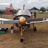 Gminny Piknik Lotniczy - samolot Moran