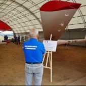 Gminny Piknik Lotniczy - wystawa zdjęć lotniczych i szybowców.