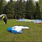 Mieroszów Paragliding FLy 4 maja 2019, Darek M, na swoim Cure BGD