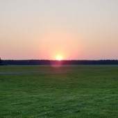 LOTEK 2020 EPOP, Opolska edycja obozu szybowcowego LOTEK, lotniskowe zachody słońca