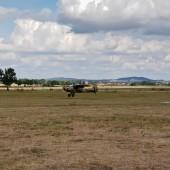 Gminny Piknik Lotniczy - samolot Tulak