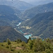 Lijak dzień czwarty - Kobala, Widok ze startowiska na Kobali