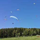 Mieroszów - Paragliding Fly, Na między lądowaniu ...