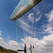 Andrzejówka - Paragliding Fly, Mimo tak pięknego nieba, niestety trzeba lądować.